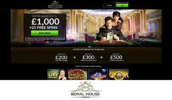 Royal House Casino screenshot